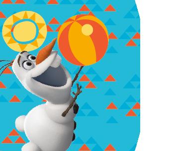 Olaf, Sun Sand Fun!