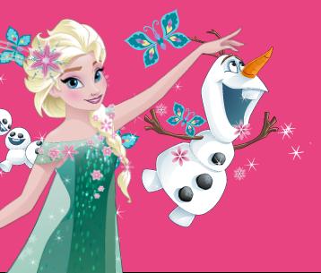 Frozen, Papillon