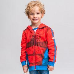 Sudadera Con Capucha Cotton Brushed Spiderman