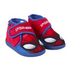 Zapatillas De Casa Media Bota Spiderman