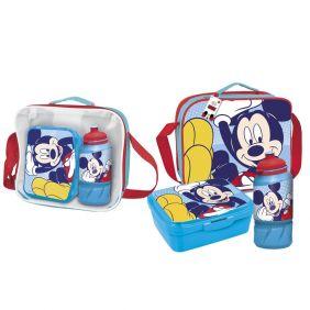 Portamerienda Con Accesorios Mickey 15 Cm