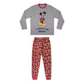 Pijama Niño Largo Single Jersey Mickey