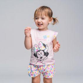 Pijama Corto Minnie Bebe