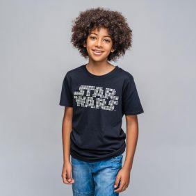 Camiseta Corta Glow In The Dark Star Wars