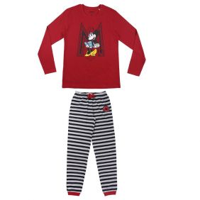 Pijama Largo Single Jersey Minnie