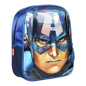 Mochila Infantil 3D Avengers Capitan America 25cm.jpg