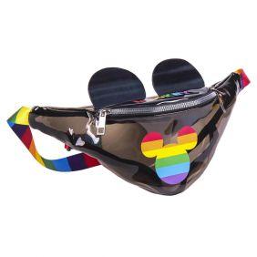 Bolso Riñonera Transparente Disney Pride