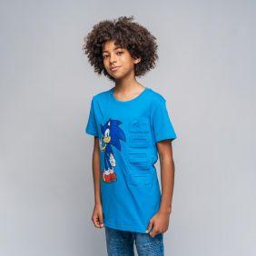 Camiseta Corta Aplicaciones Single Jersey Sonic
