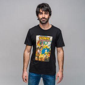 Camiseta Corta Retro Single Jersey Sonic