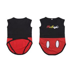 Camiseta Para Perro Single Jersey Mickey