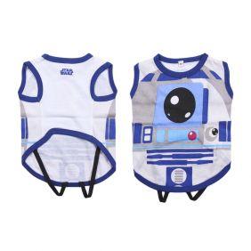 Camiseta Para Perro Single Jersey Star Wars R2-D2