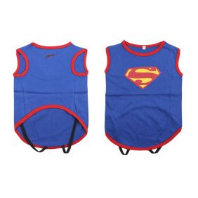 Camiseta Para Perro Single Jersey Superman