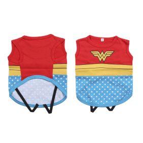 Camiseta Para Perro Single Jersey Wonder Woman