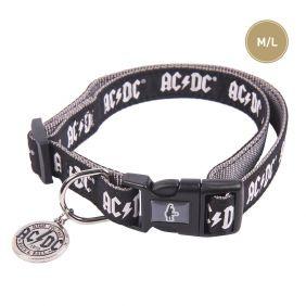 Collar Para Perros M/L Acdc