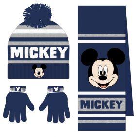 Conjunto 3 Piezas Bufanda Mickey