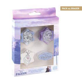Goma De Borrar Pack X4 Frozen II