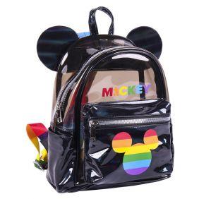 Mochila Casual Moda Transparente Disney Pride