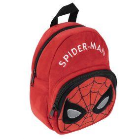 Mochila Guarderia Personaje Peluche Spiderman 22 Cm