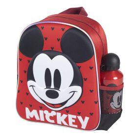 Mochila Infantil 3D Con Accesorios Mickey 31 Cm