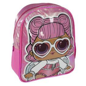 Mochila Infantil Personaje Brillante Lol 31 Cm