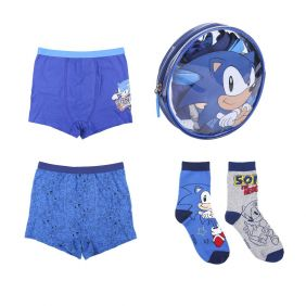Pack Boxer Mas Calcetines 4 Piezas Sonic