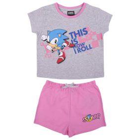Pijama Corto Single Jersey Sonic