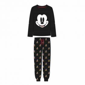 Pijama Largo Single Jersey Mickey