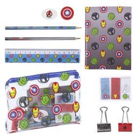 Set Papelería Escolar Avengers