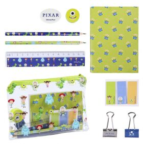Set Papelería Escolar Pixar