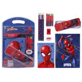Set Papelería Escolar Spiderman