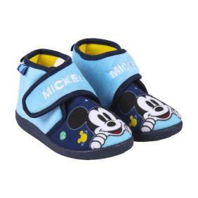 Zapatillas De Casa Media Bota Mickey