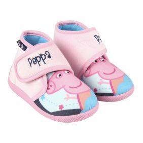 Zapatillas De Casa Media Bota Peppa Pig