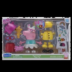 Peppa Pig Vestidos Divertidos Con Sonidos ¡4 Outfits Diferentes!