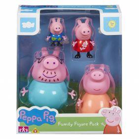Figuras Familia Peppa Pig Pack 4 Unds