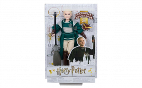 Muñeco Draco Malfoy Quidditch (Harry Potter)