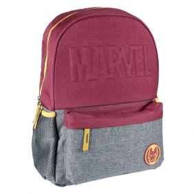 Mochila Escolar Instituto Avengers Iron Man 42 Cm
