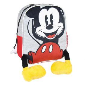 Mochila Infantil Personaje Aplicaciones Mickey 23 Cm