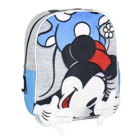 Mochila Infantil Personaje Aplicaciones Minnie 23 Cm