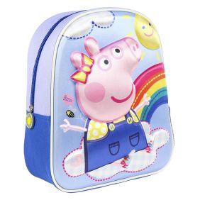 Mochila Infantil 3D Peppa Pig 31 Cm