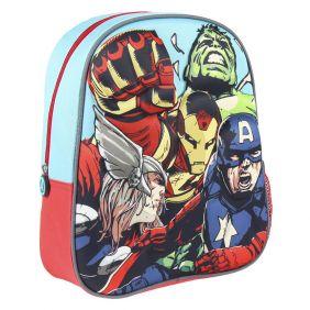 Mochila Infantil 3D Avengers 31 Cm