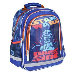 Mochila Escolar Premium Brillante Star Wars 39 Cm