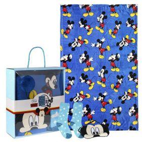 Set Regalo Manta Mickey