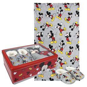 Set Caja Metálica Mickey