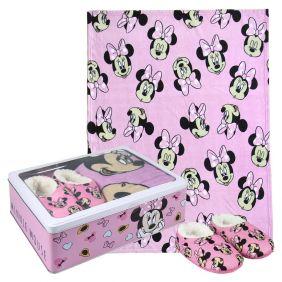 Set Caja Metálica Minnie