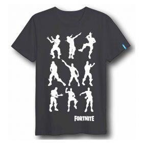 Camiseta Corta Dance Fortnite