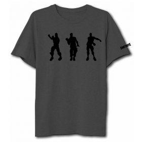 Camiseta  Fortnite Equipo Gris