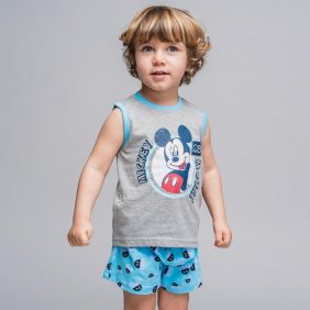 Pijama Corto Mickey Bebe