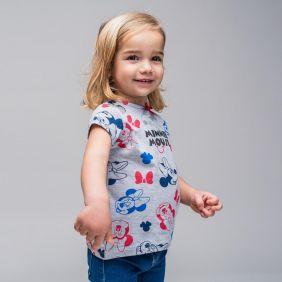 Camiseta Corta Minnie Bebe