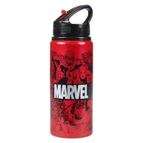 Botella Aluminio Marvel 23 Cm