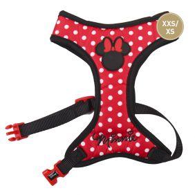 Arnes Perro Pequeño Rojo de Minnie Mouse - Talla XXS/XS
